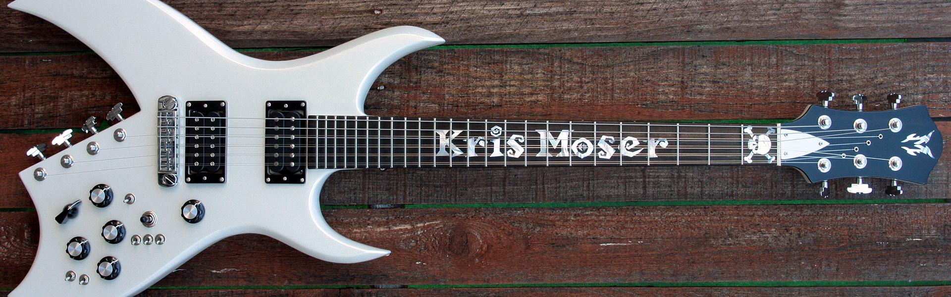 hight resolution of kris moser s moser 10 basilisk guitar