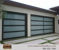Neals Custom Garage Doors, Contemporary Garage Doors ...