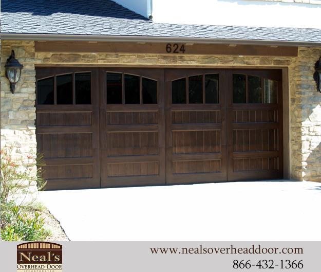 Tuscan Style Custom Garage Doors Designs and Installation  Southern California Orange County Irvine Tustin Newport Beach Huntington Beach