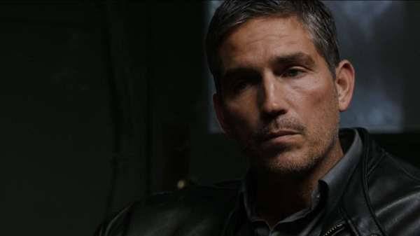 Jim Caviezel as John Reece in the CBS television series PERSON OF INTEREST.