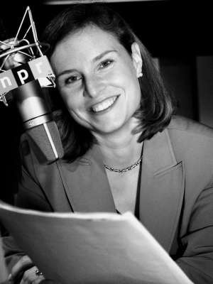 Provably Not True: photo of NPR's Mary Louise Kelly.