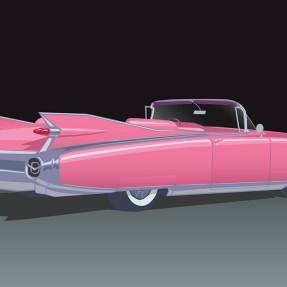59 Cadillac Vector Illustration