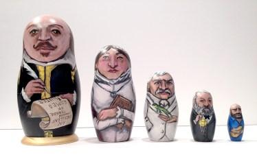 Famous Authors Matryoshka