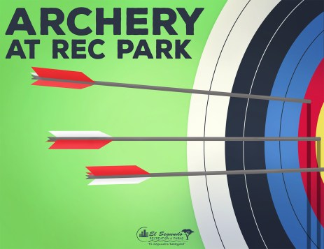 Archery class flyer