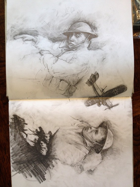 ww1 sketches