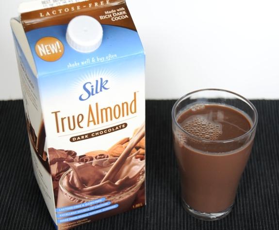 Silk True Almond Dark Chocolate almond milk