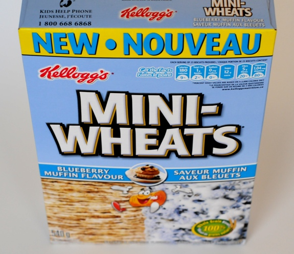 Blueberry Muffin Mini-Wheats