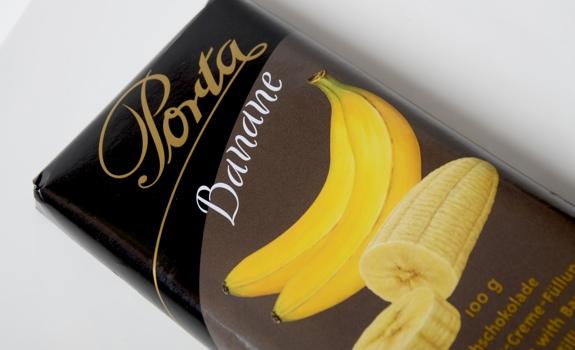 Porta Banane chocolate bar