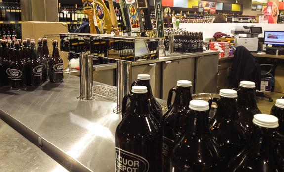 Beer Economics 101 – The Growler Bar