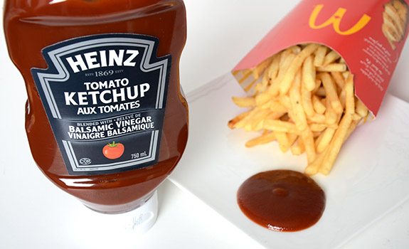 Heinz Tomato Ketchup Blended with Balsamic Vinegar