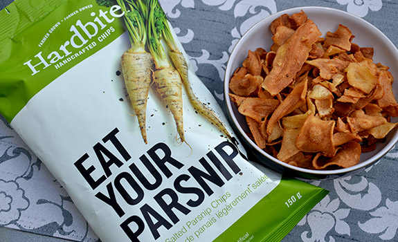 Hardbite Eat Your Parsnips chips