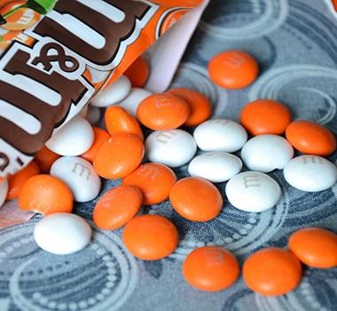 Orange M&M's from Australia