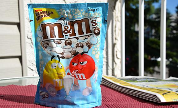 Vanilla Shake M&M's from Australia