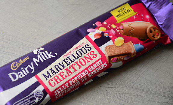 Dairy Milk Marvellous Creations Jelly Popping Candy