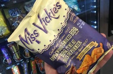 Miss Vickie's Applewood Smoked BBQ potato chips