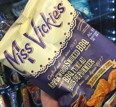 Miss Vickie's Applewood Smoked BBQ potato chips