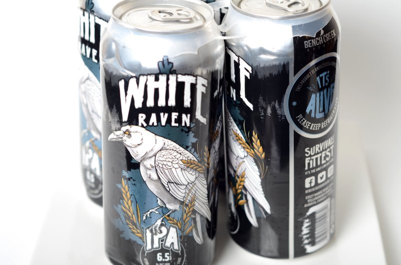 White Raven IPA from Apex Predator