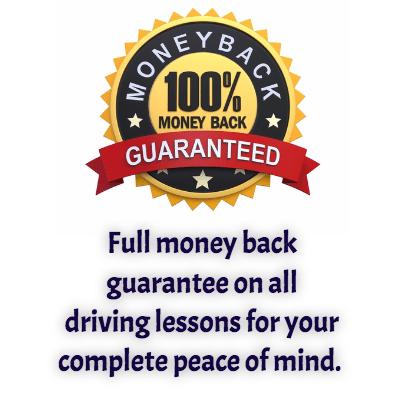 Money Back Guarantee on Driving Lessons Banbury