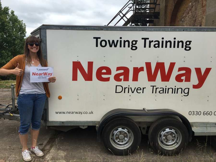 Amy Wood Car and Trailer Test Pass