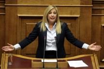 Φ. Γεννηματά: «Θα σας πω εγώ τί είναι ντροπή κ. Τσίπρα»