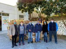 Δωρεά τροφίμων και ειδών από τον Ροταριανό Όμιλο ΗρακλείουElGreco