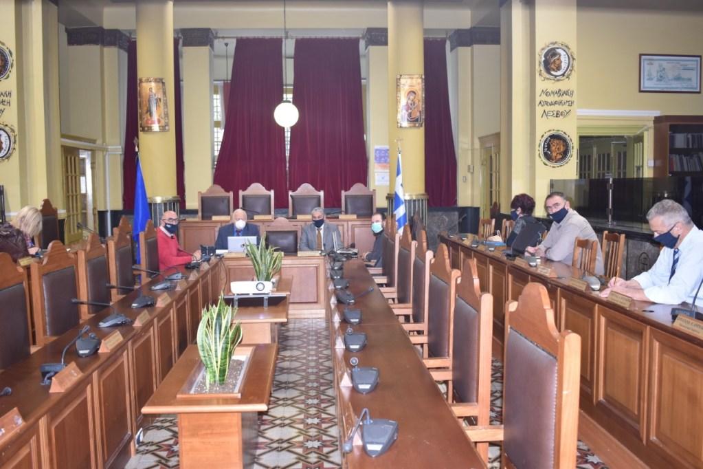Σύσκεψη για τη διαχείριση της πανδημίας στα νησιά του Βορείου Αιγαίου