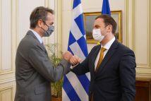 Πιστή εφαρμογή της Συμφωνίας των Πρεσπών ζήτησε από τον ΥΠΕΞ της Βόρειας Μακεδονίας ο Μητσοτάκης