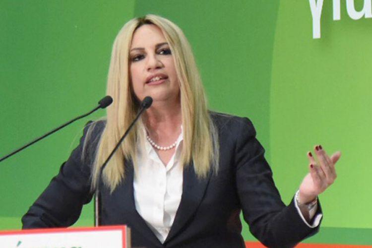 Φ. Γεννηματά: Σκάνδαλο εις βάρος του ελληνικού λαού η υπόθεση της AMK στην Πειραιώς