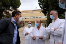Aλ. Τσίπρας: «Η κατάσταση στα νοσοκομεία της χώρας παραμένει δραματική»