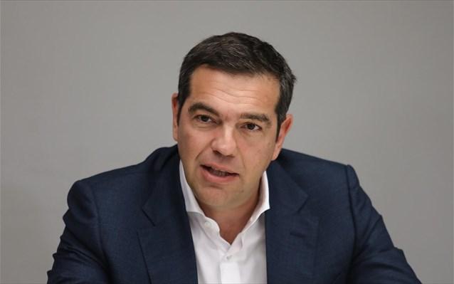 Δριμεία κριτική του Αλ. Τσίπρα στην κυβέρνηση από τη Λέσβο, όπου περιοδεύει