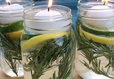 Homemade Mason Jar Natural Repellents