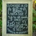 DIY Vintage Chalkboard Frame