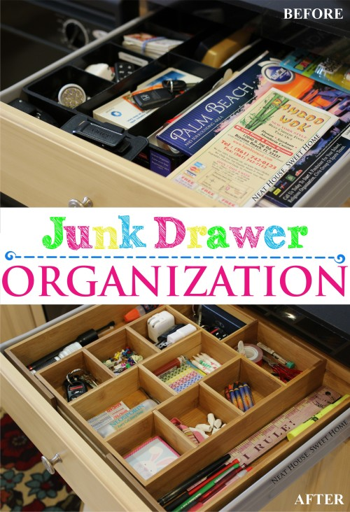 Organizing the junk drawer home organization parties for Kitchen junk drawer