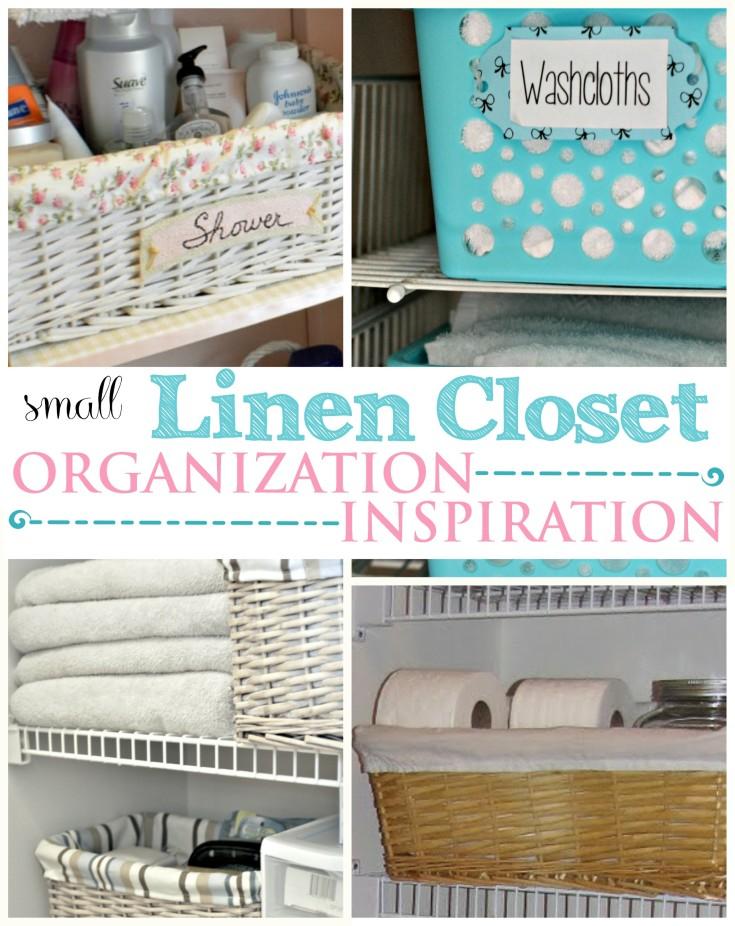 Small Linen Closet Organization Ideas | Neat House. Sweet Home™