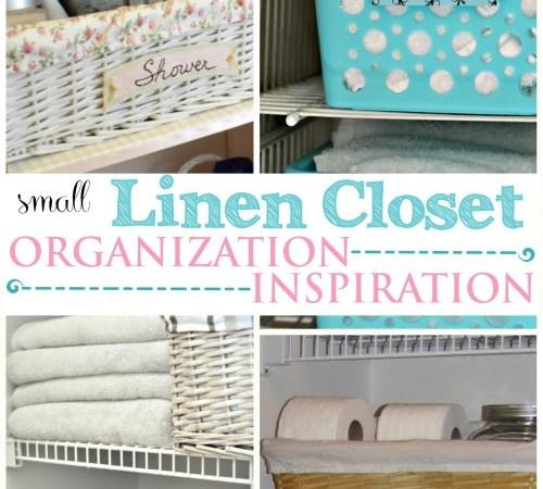 Linen Closet Organization Inspiration