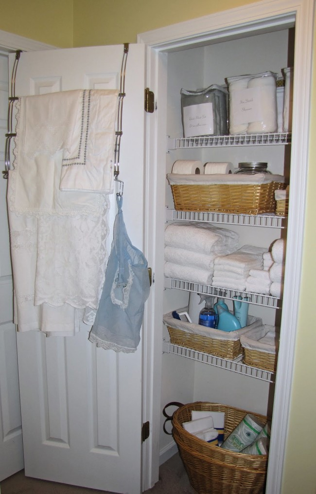 Small Linen Closet Organization Ideas Neat House Sweet