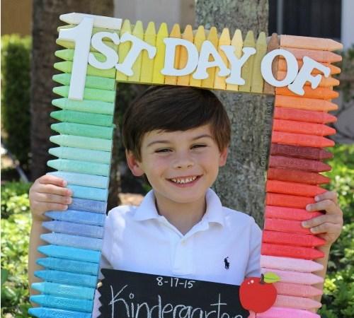 DIY Back to School Photoprop