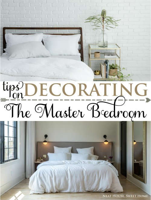 Tips on decorating the master bedroom