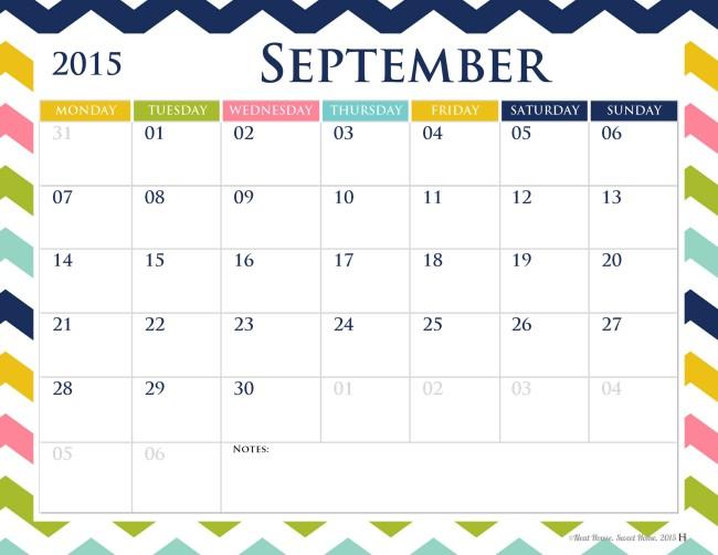 Free calendar download.