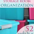 Week 2 of 52: Storage Room Organization