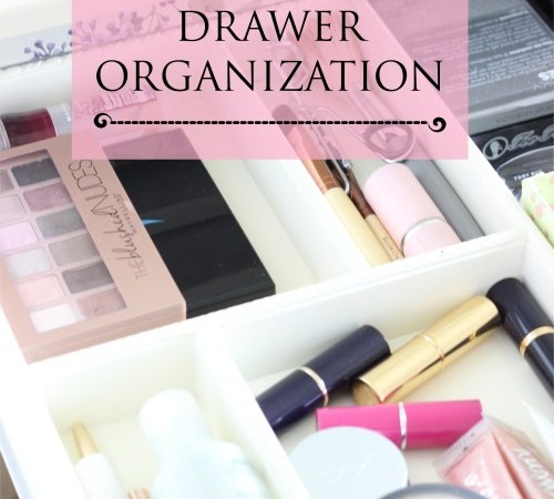 Makeup Drawer Organization – Week 4