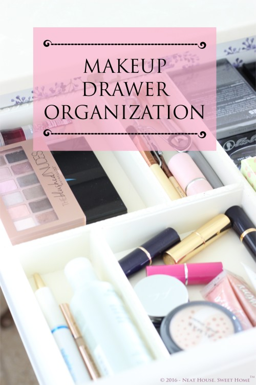 Week 4 of 52: Makeup Drawer