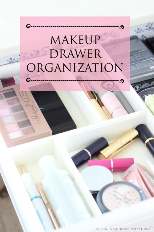 Week 4 of 52: Makeup Drawer