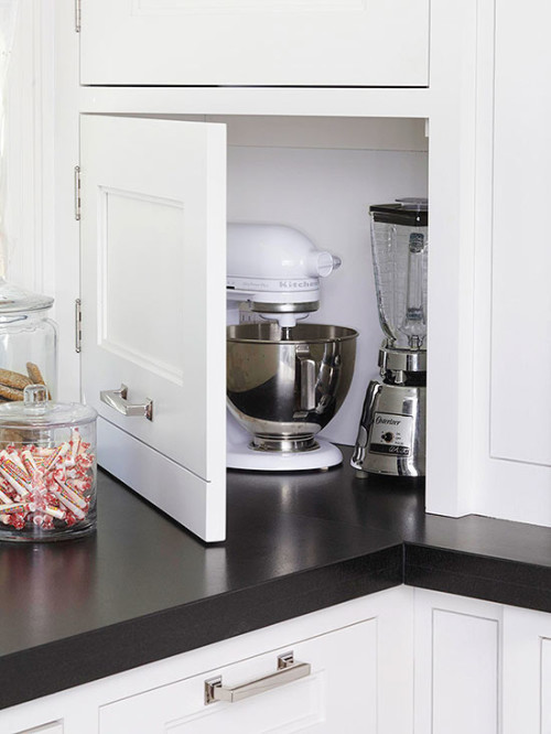Store appliances that are not used often