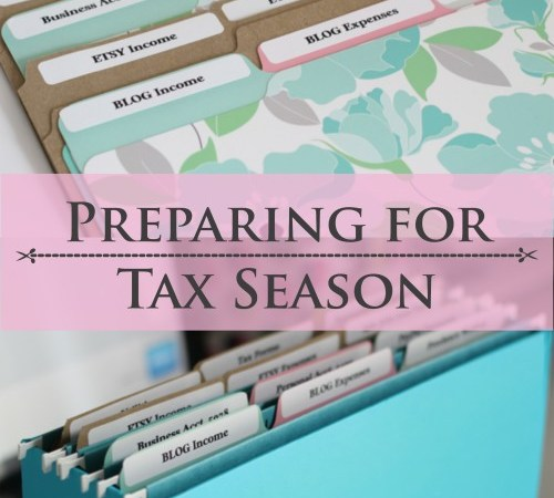 Tax season doesn't have to be overwhelming. These few tips could help you save time and money!