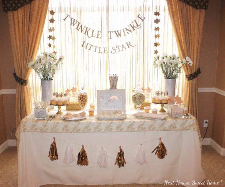Twinkle Twinkle Little Star Baby Shower Neat House Sweet Home