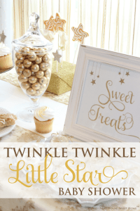 Twinkle Twinkle Little Star Baby Shower | Home ...
