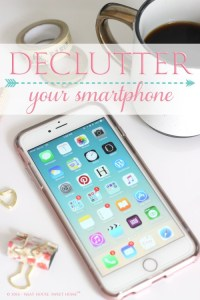 Declutter your smartphone -and your mind- from unused and distracting apps . You will be more focused and peaceful in as little as 5 days.