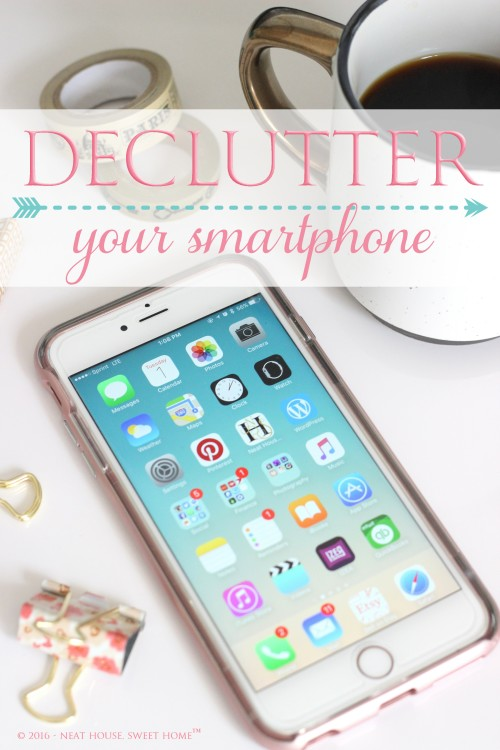 Week 9 - Declutter Your Smartphone