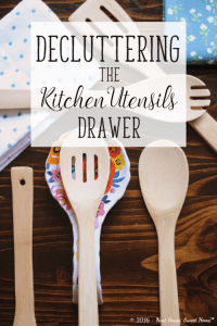 Kitchen Utensils Organization – Week 15